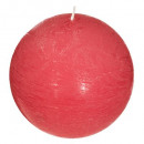 fragrant scented candle pom elea d10, red