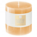 scented candle vani elea 10x10, yellow