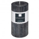scented candle opopo elea 6.8x14, dark blue