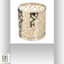 świeca zapachowa metalowa ażurowa 10x11, 2-krotnie