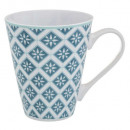 mug tikal 30cl, 3-fois assorti, multicolore