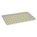 mel tikal tray 45x30cm, 2- times assorted , multic