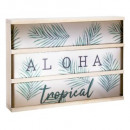 aloha message light box, veelkleurig