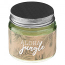 scented candle aloha glass 65g, 3- times assorted