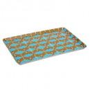 plateau mel wax 45x30cm, 2-fois assorti, couleurs