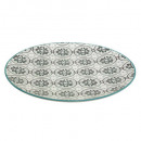 plate green dolce 27.5cm, green