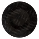 plato planas 27cm outland negro, negro