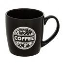 mug ronde aroma noir 30cl, noir