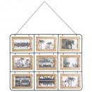 Großhandel Bilder & Rahmen: Pele Mele Holz 18h Nomade, braun