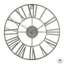 Großhandel Uhren & Wecker: Vintage graues Metallpendel d36,5, grau