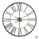 Vintage gray metal pendulum d96, gray