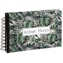 wholesale Photo Book: spiral album 80 ph jungle, 3- times assorted , col