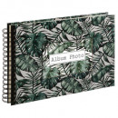 wholesale Photo Book: Spiral album 160 ph jungle, 3- times assorted , si