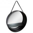 spiegelplank d55, zwart