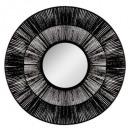 miroir corde ethnique d76, noir