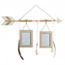 photo frame fleche 2ph ete, beige