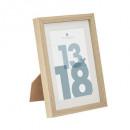 natural photo frame manu 13x18, beige