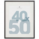 black manu photo frame 40x50, black