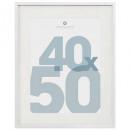 Marco de fotos blanco 40x50 manu, blanco