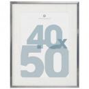 silv manu photo frame 40 * 50, silver
