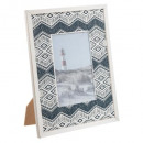 10x15 Ocean Wood Photo Frame, Multicolored