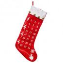Großhandel Partyartikel: Dekoration Kalender Avent Boot TXT Poch