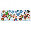Deko-Eimerband Weihnachtsmann / Weihnachtskugel 60