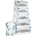 wholesale Small Furniture: box rectangle x6 glitter winter + rn