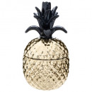 pineapple ceram h17cm box, 2- times assorted