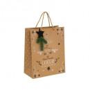 gift bag kraft pail + wood mm