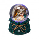wholesale Snow Globes: decoration ball snow led jmj 45mm