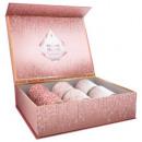illatos gyertya nyomtatott tealight x6 4xh5