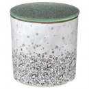 scented candle in printed tealight d10xh10