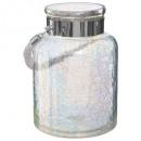 tealight lantern irisee d18xh25cm