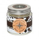 scented candle in metal pot d6xh6 65g