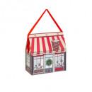 doos traditionele tas kerst huis