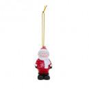 karácsonyi dekoráció ceram gyermek h8cm, kétszeres