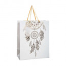 hot feather gift bag g + mm