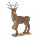 gm wood reindeer metal 50cm