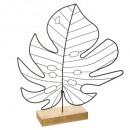 dekoráció fém levél trópusi ékszer, 2-szeres asso