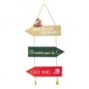 groothandel Speelgoed: houten bord rood groen goud 50cm