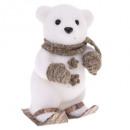 dekoration teddyhandschuh ski h23cm