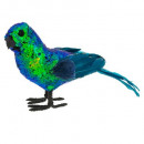 parrot decoration sequin l25cm