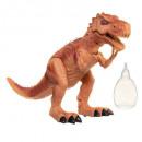dinosaurus stoom spuwen, bruin