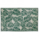 jungle plastic carpet 120x180, green