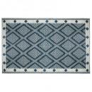 alfombra plast losan can 120x180, azul pato
