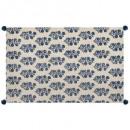 tapis indigo 60x90, 2-fois assorti, couleurs assor