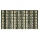 tapis cot jungle 70x140, 2-fois assorti, vert