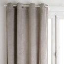 blackout curtain velvet gs 140x260, gray smile