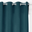 blackout velvet curtain 140x260, blue